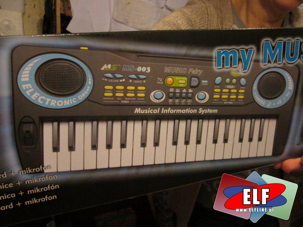 Instrument muzyczny, pianino z mikrofonem, instrumenty muzyczne, mikrofony, klawisze
