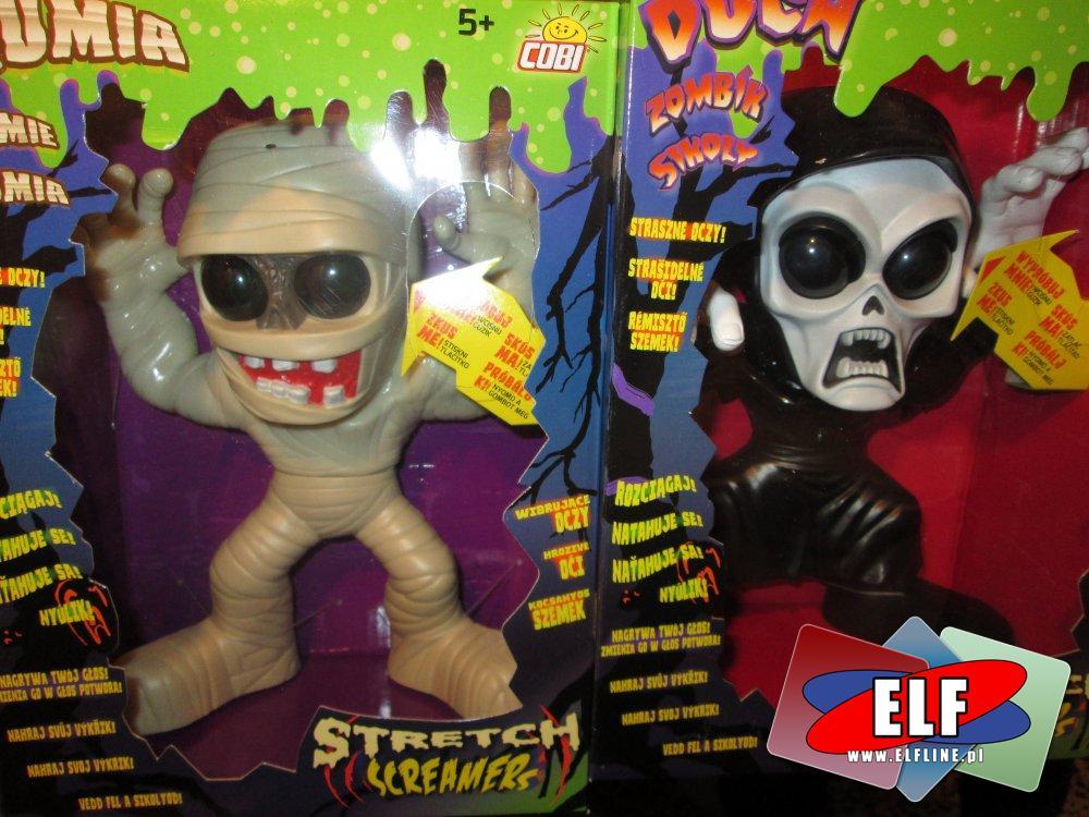 Stretch Screamer, Mumia, Duch, Frankenstein