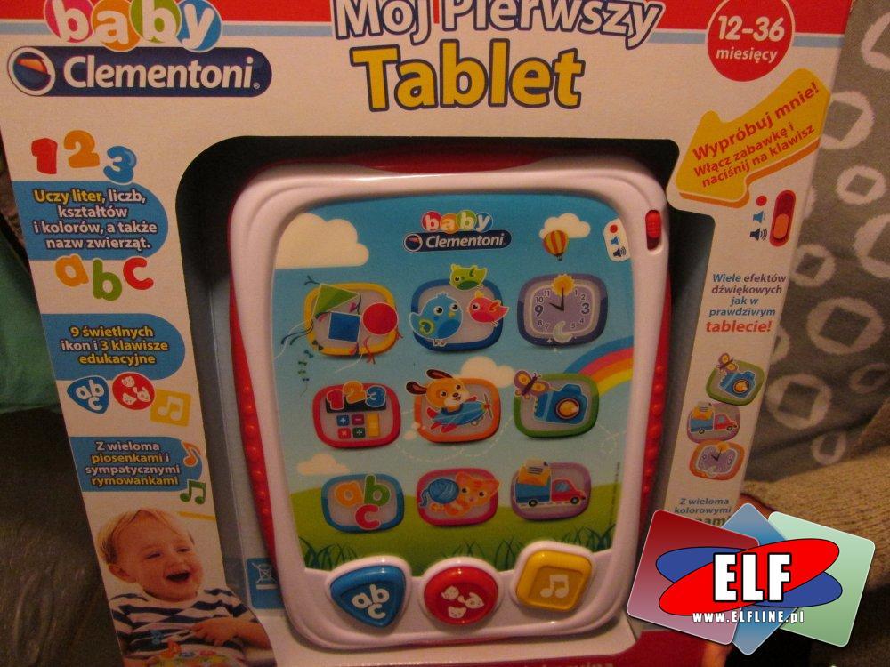 Mój pierwszy tablet, zabawka edukacyjna, zabawki edukacyjne