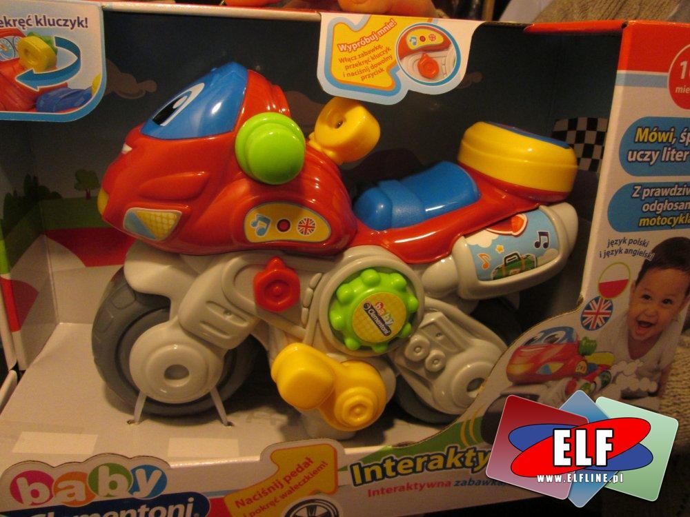 Baby Clementoni, Interaktywny motor, motory interaktywne, zabawka, zabawki