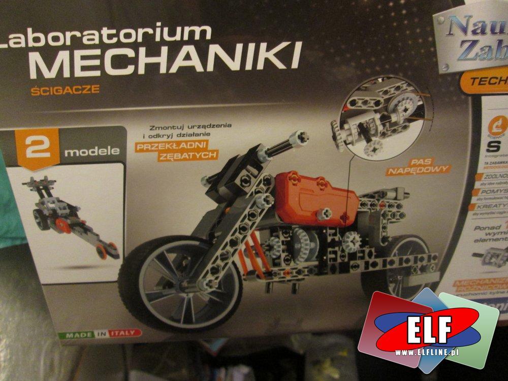 Laboratorium Mechaniki, zestaw edukacyjny, zestawy kreatywne, edukacyjne, kreatywne