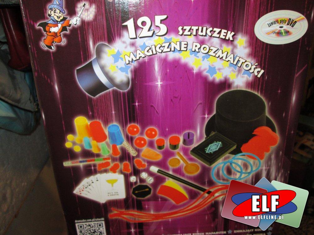 Sztuczki magiczne, 125 sztuczek magicznych, zestaw magika, magia