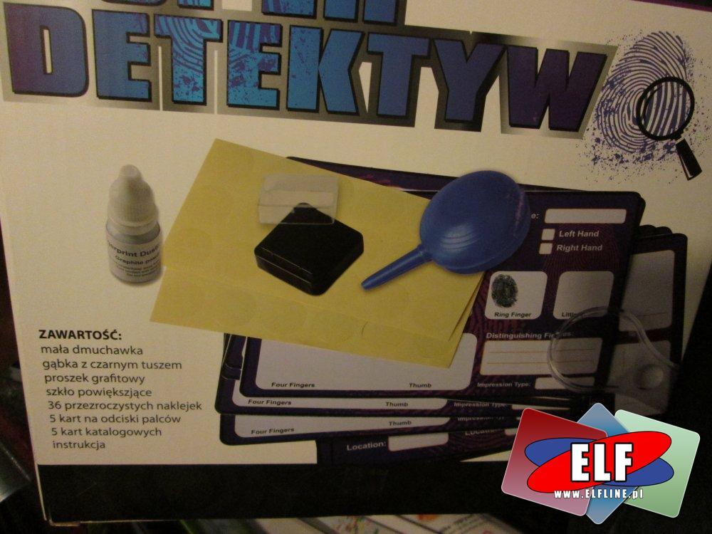 Zestaw edukacyjny Super Detektyw, zabawki edukacyjne, gra, gry, kreatywne, kreatywny
