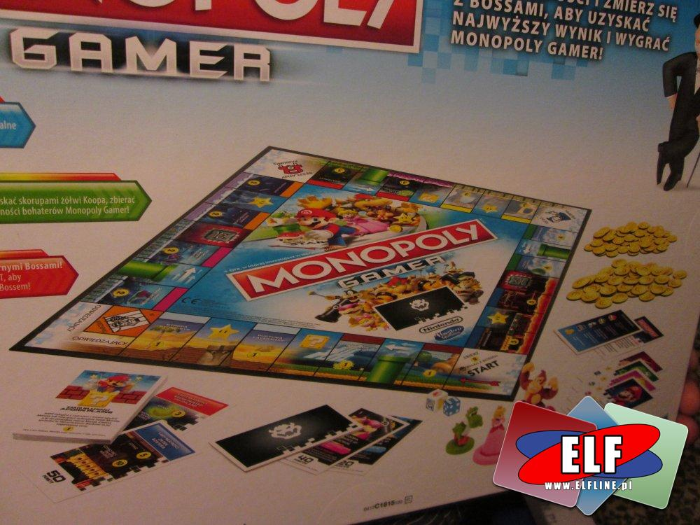 Gra Monopoly Gamer, Gry, Monpol