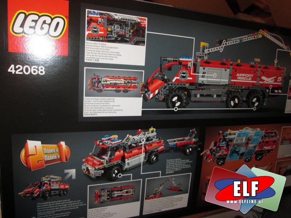 Lego Technic, 42068 Pojazd straży pożarnej, klocki