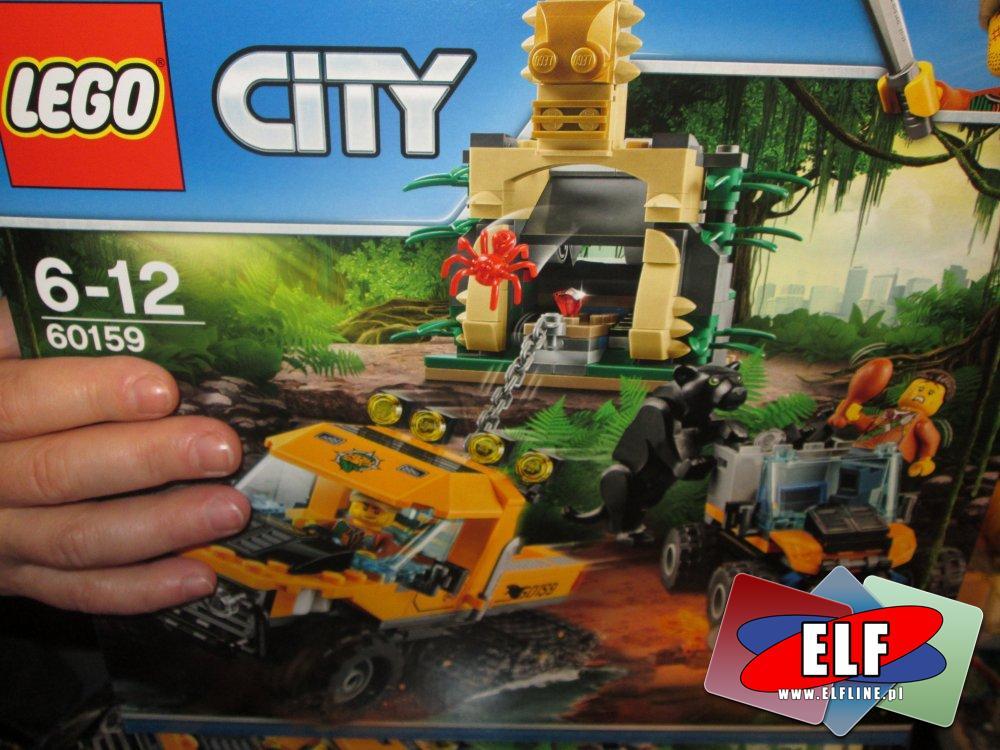 Lego City 60159 Misja półgąsienicowej terenówki, klocki