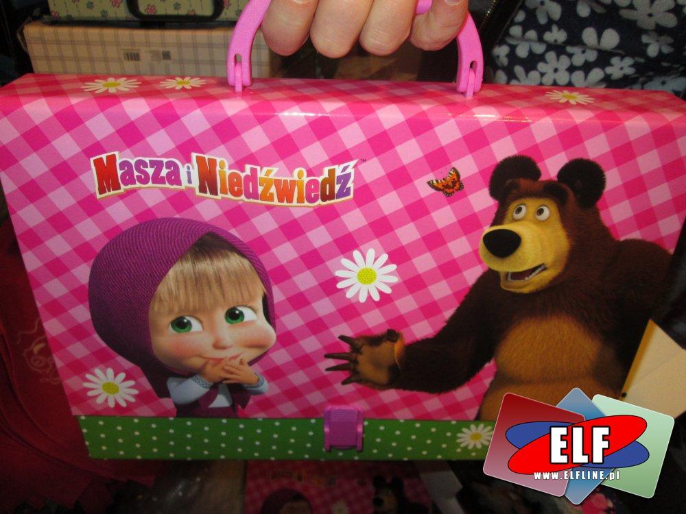 Teczka, Teczki, Disney Princess, Pieski, Kotki, Koniki, Masha i Niedźwiedź, Autka Cars i inne