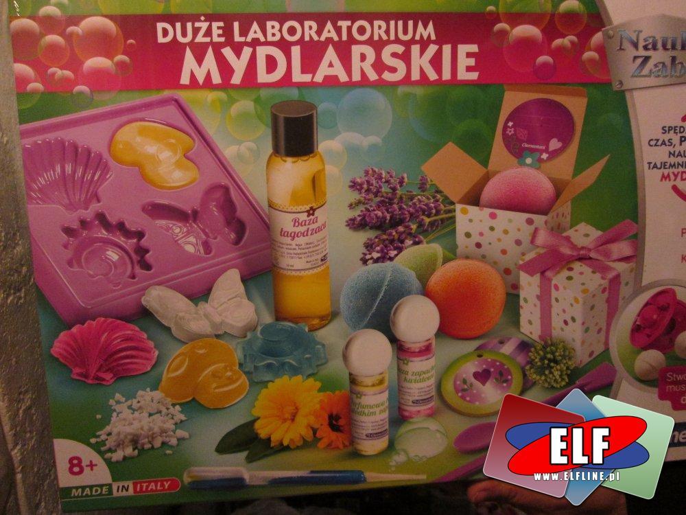 Duże Laboratorium Mydlarskie, zestaw kreatywny, zestawy kreatywne