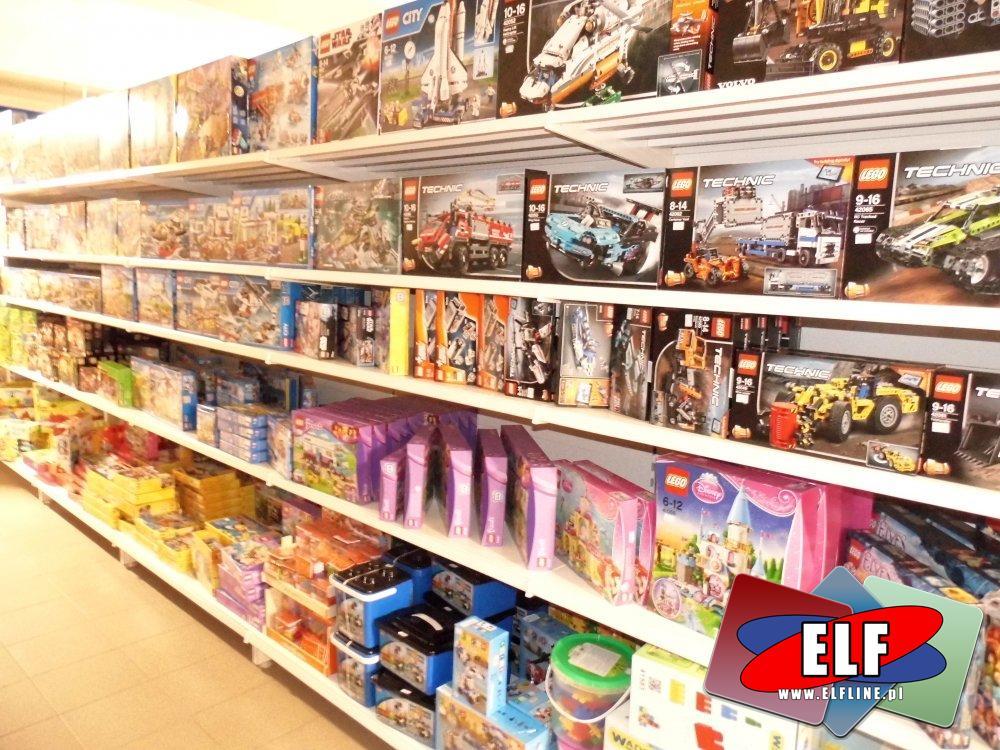 Klocki Lego, City, Technic, Friends i inne serie klocków lego