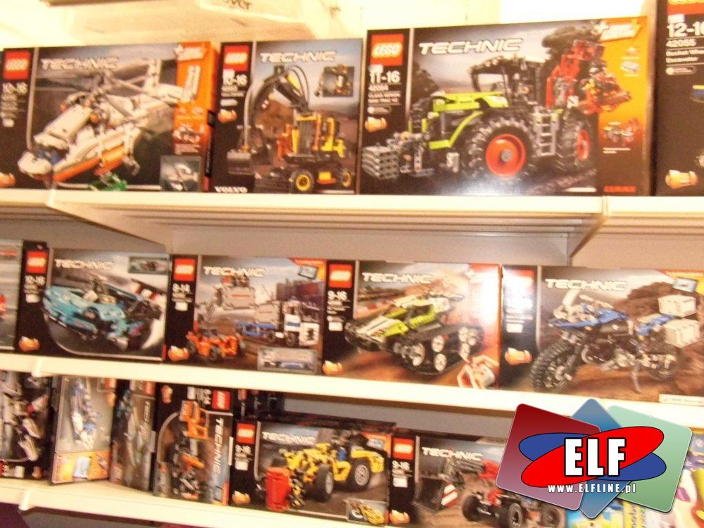 Klocki Lego, Technic i inne