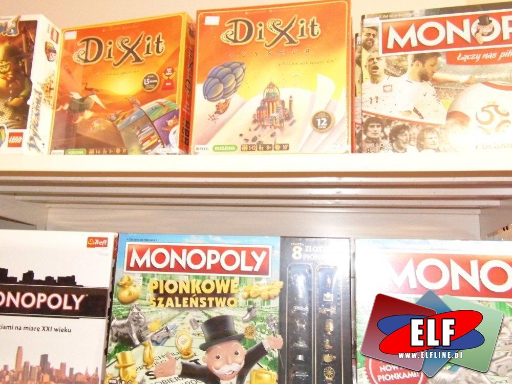 Gry, Dixit, Monopoly, Łowca duchów, Operacja i inne