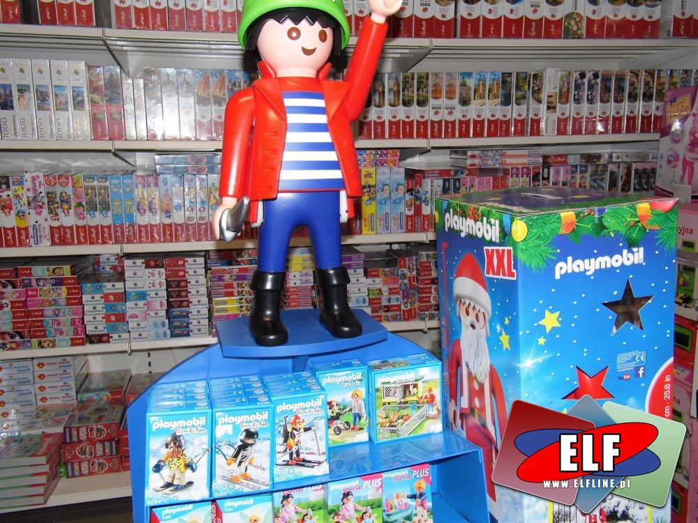 Playmobil, klocki i zabawki