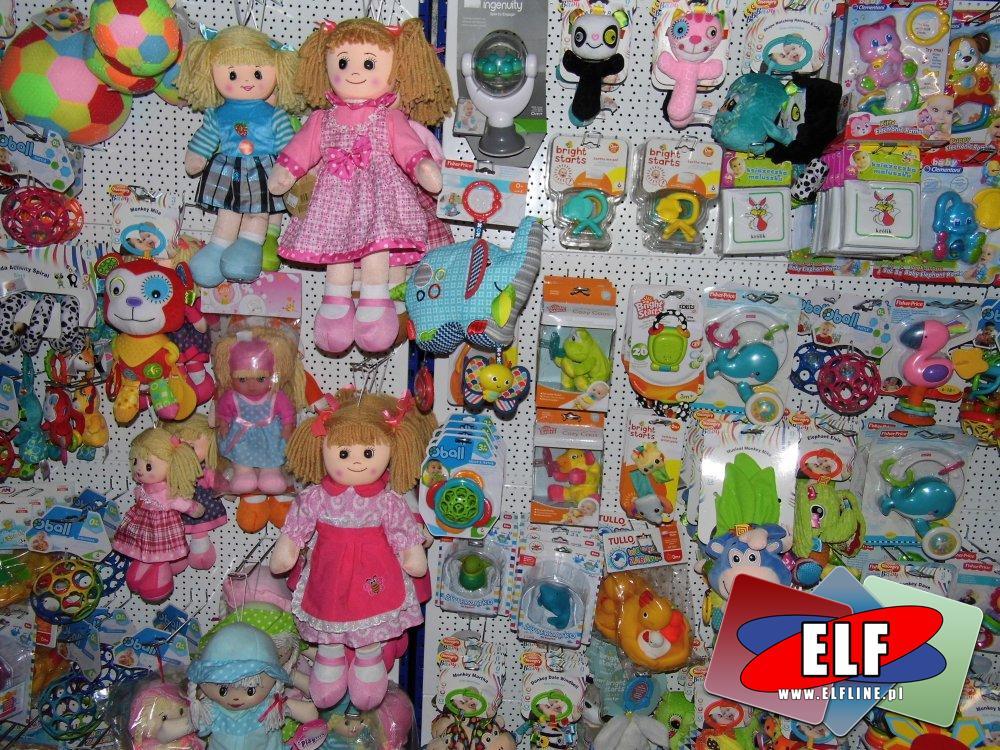 Lalki, Grzechotki, Piszczki i inne zabawki