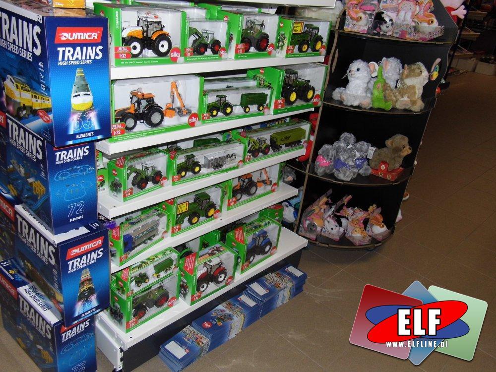 SIKU, traktory, kombajny, maszyny rolnicze, przyczepy i inne pojazdy