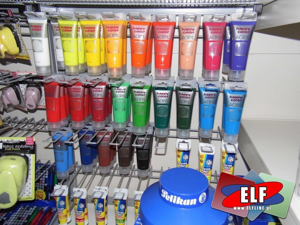 Farby akrylowe szkolne, farba akrylowa