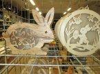 Lampka domek Wielkanocny drewniany, lampki Wielkanocne