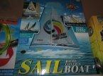 Sail Radio Boot, Łódka zdalnie sterowana, zdalnie sterowane łódki RC, na radio, pilota