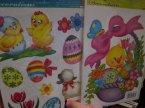 Naklejki świąteczne, kurczaczek, Wielkanocne Naklejki świąteczne, kurczaczek, Wielkanocne