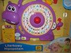 Literkowy Hipopotam, zabawka edukacyjna, zabawki edukacyjne