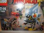 Lego Ninjago Movie, 70629 Atak Piranii, klocki
