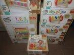 Zabawki drewniane edukacyjne, 1 2 3 Liczysz ty!, Figurki Hop do dziurki, i inne, Miś Zdziś poleca