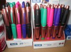 Zmazywalne długopisy i cienkopisy, Milan, Długopis, Cienkopis, zmazywalny