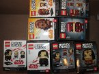 Lego Brick Headz, 41603, 41599, 41609 i inne, klocki