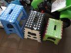Taborecik plastikowy składany, składane plastikowe taboreciki, krzesełko, krzesełka, krzesło, t... Taborecik plastikowy składany, składane plastikowe taboreciki, krzesełko, krzesełka, krzesło, taboret