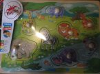 Puzzle dla dziecka, malucha, maluszków, dzieci, nauka przez zabawę, edukacyjne