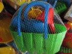 Zabawki do piasku, piaskownicy, zabawka do zabawy piaskiem, łopatki, wiaderka, foremki i inne
