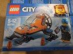 Lego City, 60190 Arktyczny ślizgacz, 60179 Helikopter medyczny, klocki
