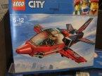 Lego City, 60177 Odrzutowiec pokazowy, 60178 Wyścigowy samochód, klocki