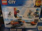Lego City, 60191 Arktyczny zespół badawczy, 60163 Straż przybrzeżna, klocki