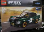 Lego Speed Champions, 75877 Mercedes-AMG GT3, 75884 Ford Mustang Fastback z 1968 r., klocki