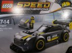 Lego Speed Champions, 75877 Mercedes-AMG GT3, 75884 Ford Mustang Fastback z 1968 r., klocki