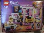 Lego Friends, 41329 Sypialnia Olivii, 41342 Sypialnia Emmy, 41334 Pokaz Andrei w parku, klocki