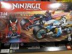 Lego Ninjago, 70639 Wyścig uliczny Wężowego Jaguara, klocki