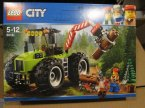 Lego City, 60137 Eskorta policyjna, 60181 Traktor leśny, klocki