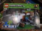 Lego Minecraft, 21141 Jaskinia zombie, klocki