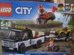 Lego City, 60148 Wyścigowy zespół quadowy, klocki