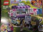 Lego Friends, 41332 Stoisko z rysunkami Emmy, klocki