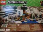 Lego Minecraft, 21130 Linia kolejowa w Netherze, 21142 Igloo niedźwiedzia polarnego, klocki