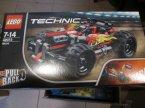 Lego Technic, 42073 Czerwona wyścigówka, klocki