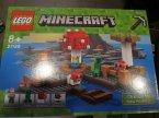 Lego Minecraft, 21129 Grzybowa wyspa, klocki
