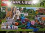 Lego Minecraft, 21123 Żelazny golem, 21143 Portal do Netheru, klocki