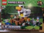 Lego Minecraft, 21140 Kurnik, klocki