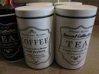 Puszka na kawę, herbatę, puszki na herbatę i kawę Puszka na kawę, herbatę, puszki na herbatę i kawę