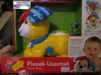 Baby Clementoni Piesek Uszatek, zabawka interaktywna edukacyjna, zabawki edukacyjne interaktywne