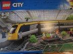 Lego City, 60197 Pociąg pasażerski, klocki Lego City, 60197 Pociąg pasażerski, klocki