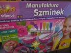 Manufaktura Szminek, naukowy zestaw do tworzenia kolorowych i zapachowych szminek, zestaw kreatywny, zestawy kreatywne